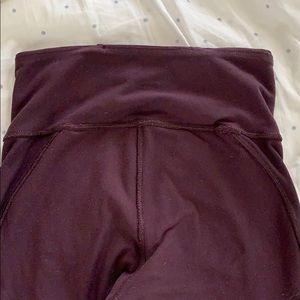 lululemon athletica Pants - Lululemon Capri tights size 2